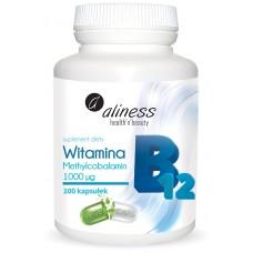 Witamina B12 Methylcobalamin  -w prawidłowym metabolizmie homocysteiny..