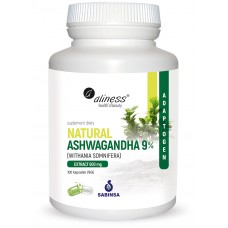NATURAL ASHWAGANDHA 9% (WITHANIA SOMNIFERA) 600 mg