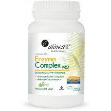 Enzyme Complex PRO  - Zawiera roślinne enzymy trawienne NON GMO otrzymane w procesie fermentacji...