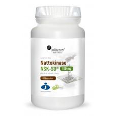 Nattokinase NSK-SD® 100 mg  60 kapsułek -nattokinaza zapobiega powstawaniu skrzepów krwi