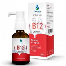 WITAMINA B12 METYLOKOBALAMINA 200µg KROPLE 30ml