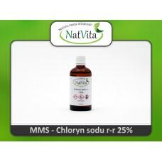 Chloryn sodu, NaCIO2, 25%, 100ml.