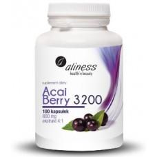 Acai Berry 3200 z Acerolą i Chromem. Ekstrakt z owoców Acai charakteryzuje się  dużą zawartością...